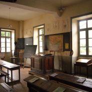 POUR LA FÊTE HISTORIQUE : UNE SALLE DE CLASSE VERS 1900