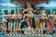 Detalle de un templo hinduista