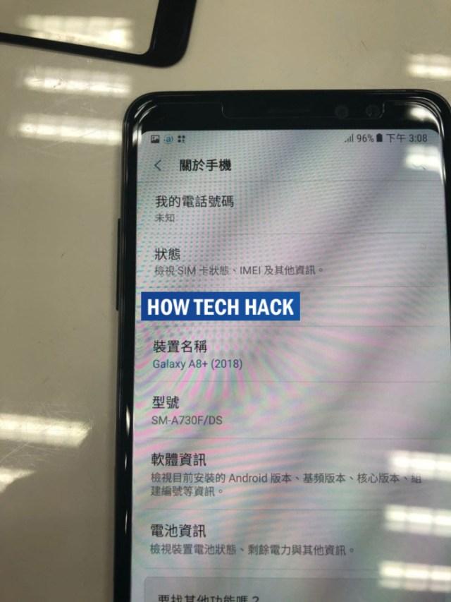 Samsung Galaxy A8 Plus 2018: Samsung Galaxy A8 Plus 2018