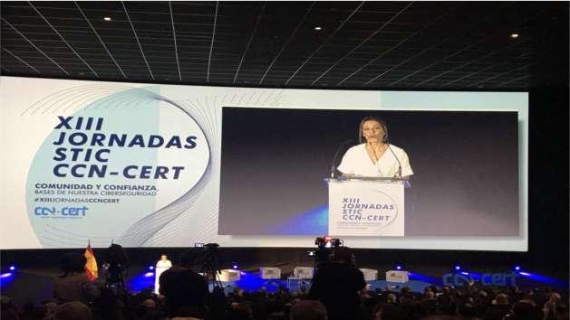 Salón plenario XIII JORNADAS STIC CCN-CERT