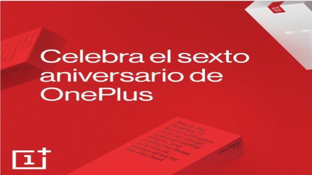 Sexto aniversario de One Plus