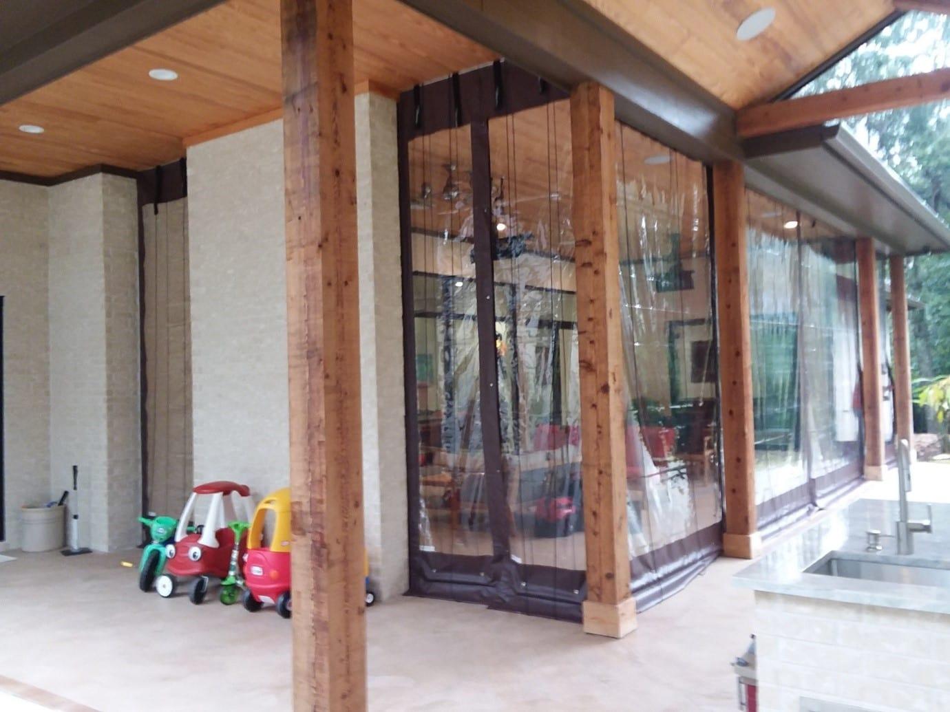 williamsburg va clear patio curtains