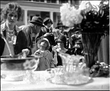 1925: The Countess Szechenyi and her daughter Sylvia appear in many LoC society event photos. The Countess was a Vanderbilt heiress, who married a Hungarian count, who was also Ambassador to the U.S. Sylvia also married a Hungarian count. She was the last member of the V. family to live at The Breakers at Newport, R.I. She died in 1998. I haven't found the location of Mt. Alton. Photo by National Photo Company.
