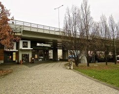 I liked this underpass location for a McDonalds close to the Prague City Museum.
