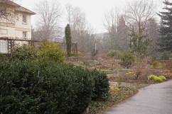 "which is part of the ""English Garden"" (now called the Exotic Garden) constructed by Duke Carl Eugen and his mistress (and later wife) Franziska von Hohenheim in the late 1700s. It's now incorporated into modern Hohenheim University."