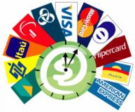 Atrair clientes, meios de pagamento