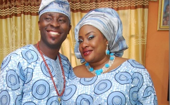 Image result for Foluke Daramola and husband