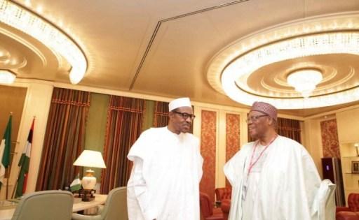 APC Chieftain Chief Don Etiebet Visits Buhari (Photos) - Enrichnaija blog