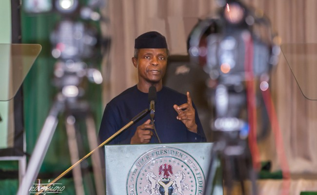 Image result for Why we focus on common man – Osinbajo