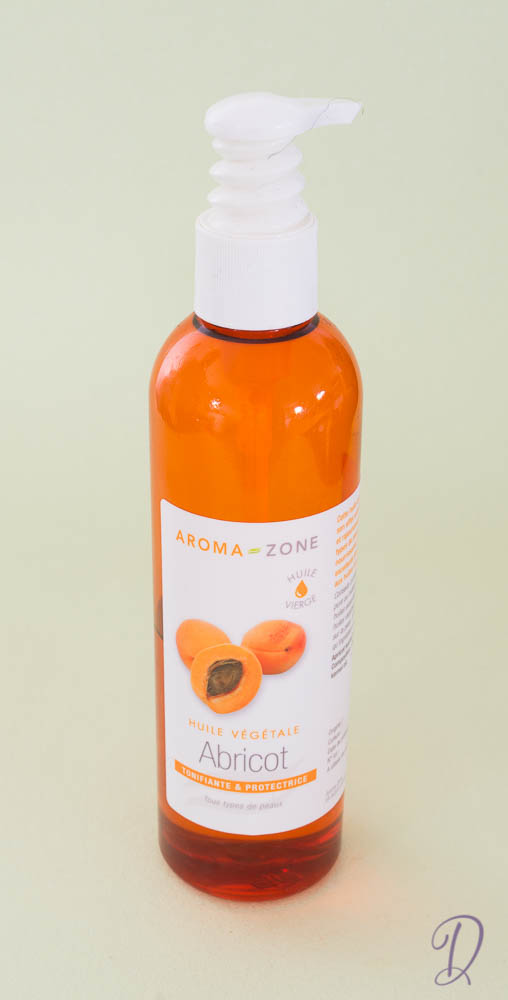 encompagnie de diari thom - huile végétale de noyau d'abricot