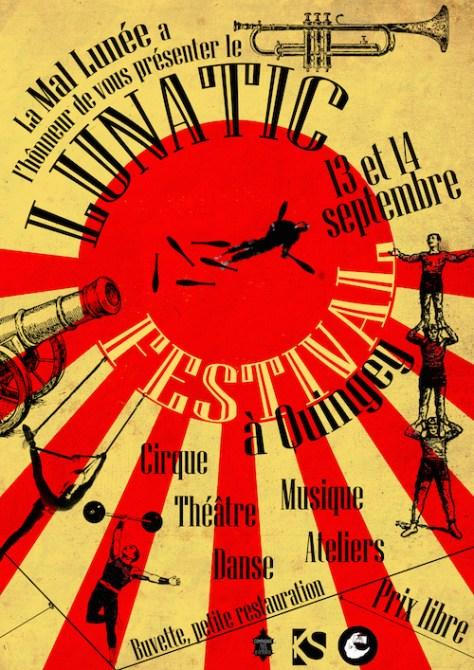 Lunatic Festival le 13 Septembre à Quingey