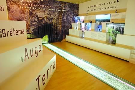 O Museo do Viño de Monforte foi concebido baixo as pautas dos espazos museísticos máis vangardistas, acorde coas tendencias contemporáneas. Arquivo EC.