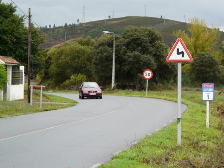 A rede de estradas provinciais de Lugo é a máis extensa de España, con 4.200 quilómetros de vial.  (Arquivo EC).