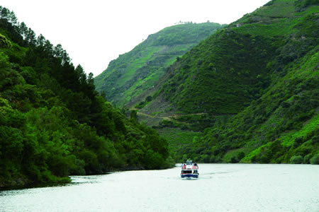 Os tres catamaráns xestionados pola Deputación de Lugo sumaron un total de 16.000 visitantes nos dous meses de verán. Arquivo EC.