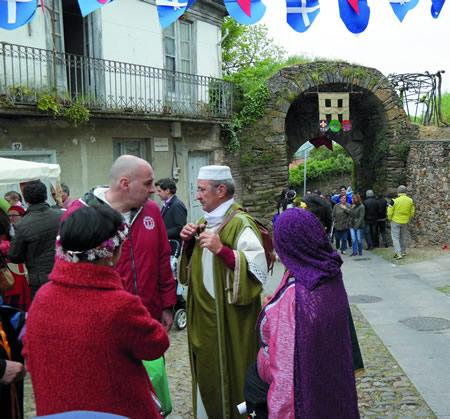 A Feira Medieval de Monforte estase a consolidar como un dos eventos de época máis atractivo da provincia de Lugo. (Arquivo EC).