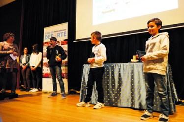 Nicolás Díaz, do Club Piragüismo Quixós, recibiu o premio á mellor promesa do deporte masculino. Como finalistas, Alejandro Delgado, do Club Pesca Val de Lemos, e Alejandro Fernández, do Club Taekwondo Neka. EC
