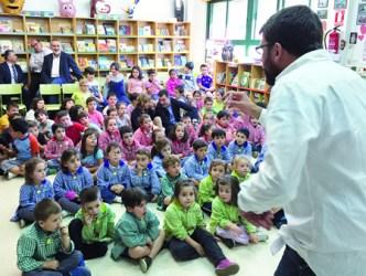 """Presentación do programa """"Protexendo o Camiño"""", nunha escola infantil da provincia de Pontevedra.  GPXG."""
