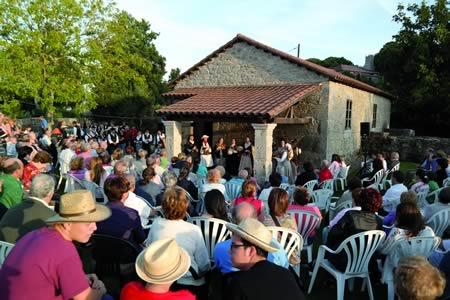 Actividades musicais, deportivas e culturais no programa das Festas Patronais de Chantada 2015. Arquivo EC.