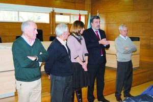 Na clausura do obradoiro tivo lugar a entrega de diplomas, a cargo do director xeral de Orientación e Promoción Laboral, Alfonso Marnotes. GPXG..