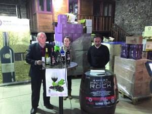 O alcalde de Pantón, José Luis Álvarez, presentou a XXIII Mostra de Viños na adega Casa Moreiras, na parroquia de Siós. EC