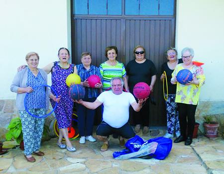 O programa de actividade física da Área de Deportes da Deputación de Lugo ofrece actividades para 83 asociacións de pequenos concellos da provincia. (Foto cedida).