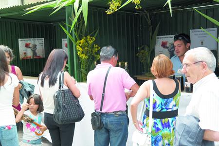 A Mostra do Mel de Quiroga é unha das citas máis senlleiras cos produtos autóctonos do sur de Lugo. Arquivo EC.
