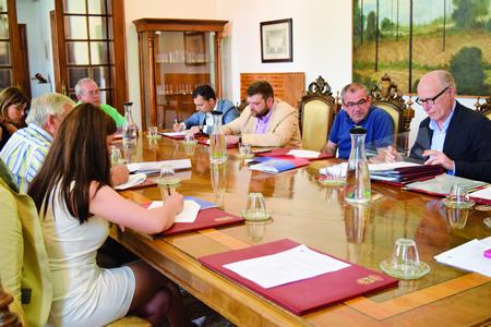 A Xunta de Goberno da Deputación de Lugo aprobou as axudas aos concellos para a renovación das sedes electrónicas o pasado 8 de xullo. GPDL.