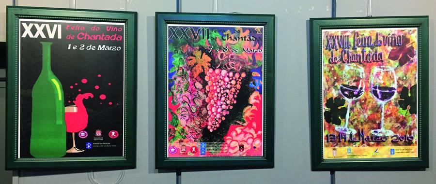 Gran parte dos 35 carteis que integran a exposición da Casa da Cultura foron cedidos polo doutor Jorge Fernández. EC