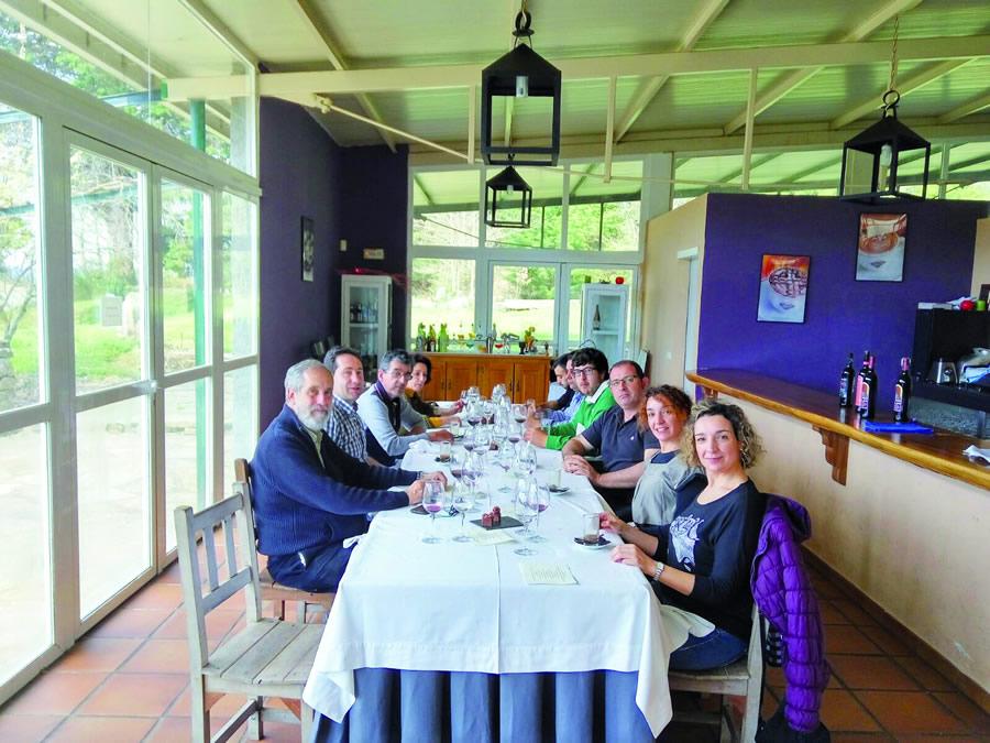 A xornada de maridaxe tivo lugar na Escola de Hostelería de Rosende, o pasado 16 de marzo  GPCS.