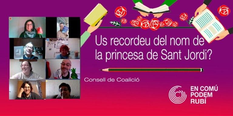 Us recordeu del nom de la princesa de Sant Jordi?