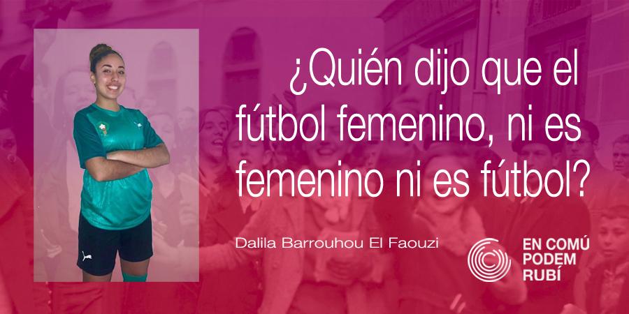 ¿Quién dijo que el futbol femenino, ni es femenino ni es fútbol?