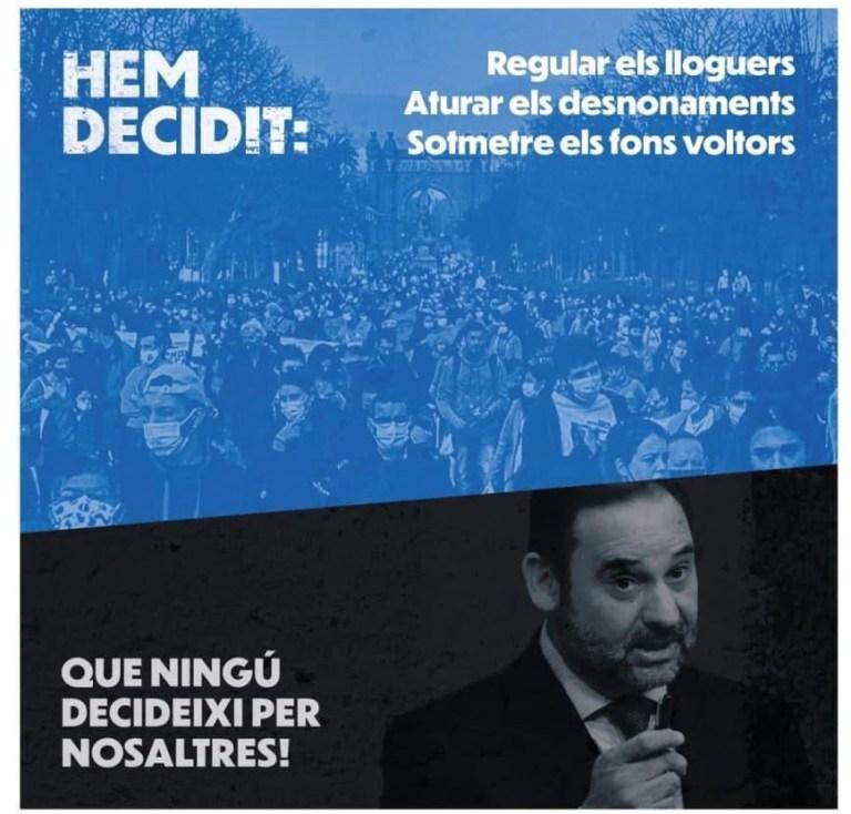 Moció del grup municipal d'En Comú Podem sobre el control de preus del lloguer