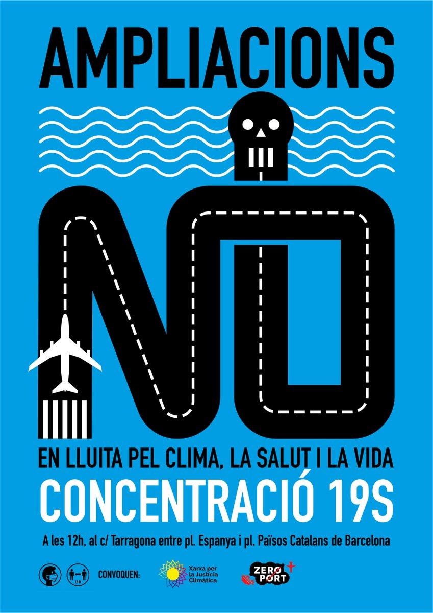 Concentració: En Lluita pel Clima, la Salut i la Vida 19S, BCN