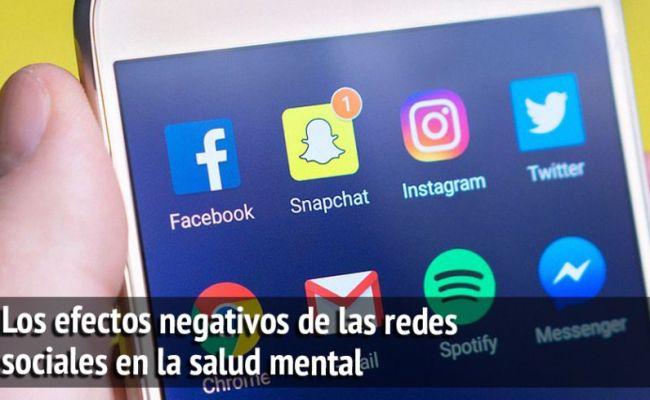 Los Efectos Negativos De Las Redes Sociales En La Salud Mental