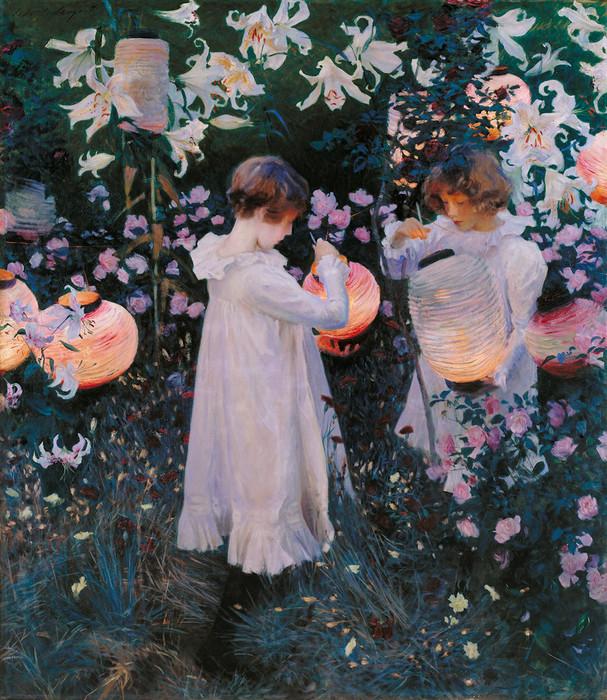 John Singer Sargent, Carnation Lily, Lily Rose Print