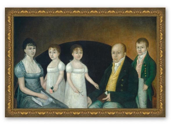 Family Group Print by Joshua Johnson