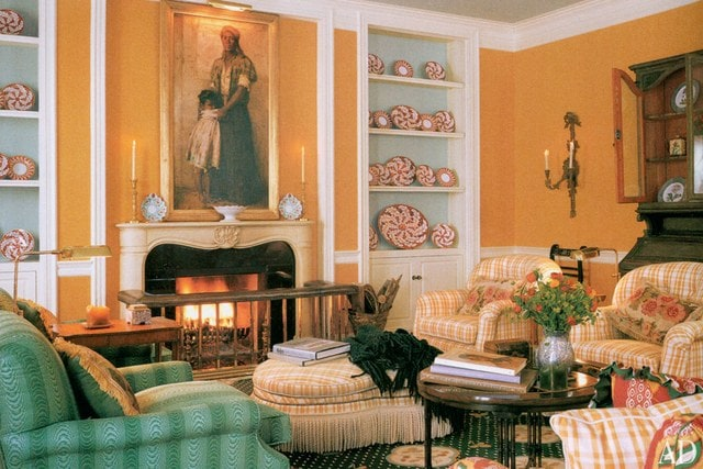 To the Highest Bidder painting by Harry Roseland, hanging in Oprah's Drawing room