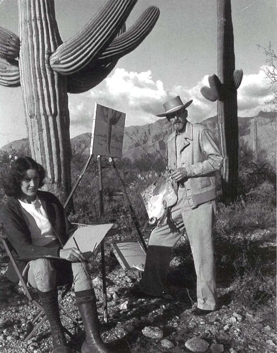 Edith Hamlin and Maynard Dixon