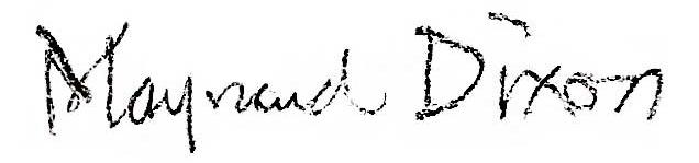 Maynard Dixon Signature