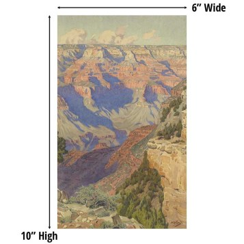 View into the Grand Canyon by Gunnar Widforss