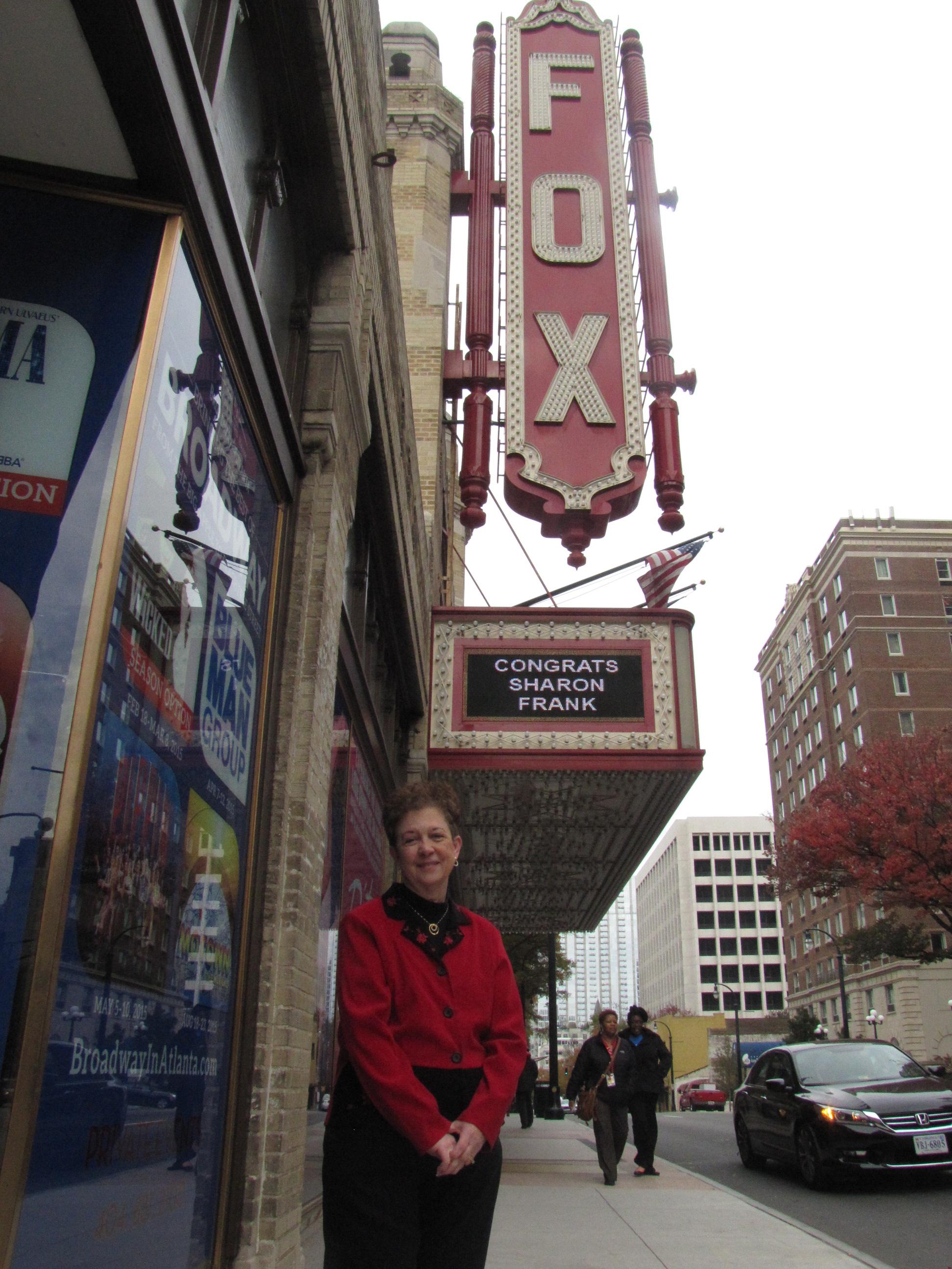 Fox Theatre names No  1 fan — Encore Atlanta