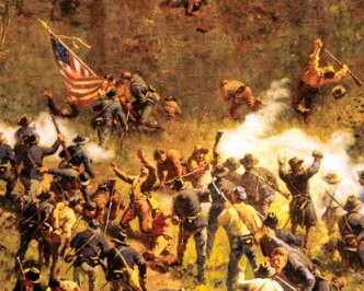A scene from the Cyclorama
