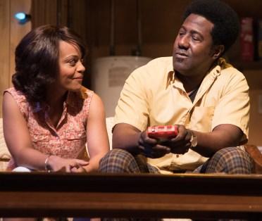 Tinashe Kajese-Bolden and E. Roger Mitchell | Photo: Josh Lamkin