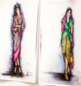 Costume designs by Lex Liang.