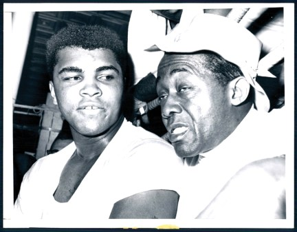 Muhammad Ali and Stepin Fetchit in an undated photo.