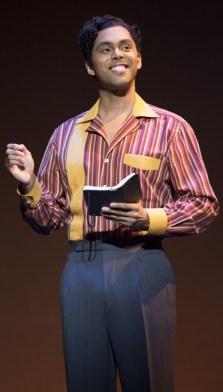 Jesse Nager as Smokey Robinson.