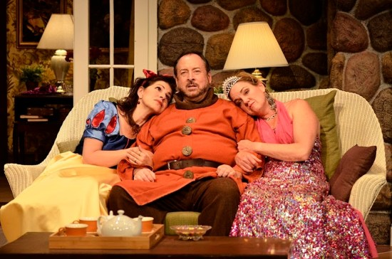 """Vanya, Sonia, Masha and Spike"" at Aurora Theatre features (from left) Tess Malis Kincaid, Bill Murphey and Lala Cochran. Photo by BreeAnne Clowdus"