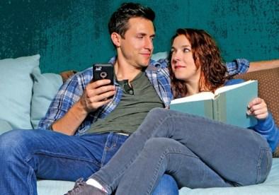 Michael Shenefelt and Megan Hayes. Photo: Horizon Theatre