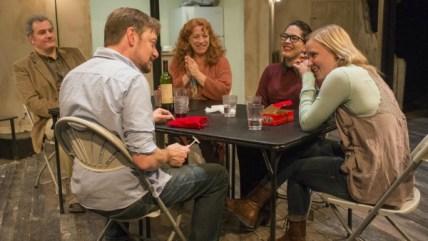 "The Chicago cast of ""The Humans."" Photo: Johmmy Oleksinski / Chicago Tribune"