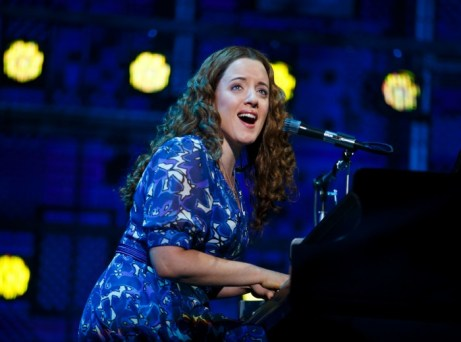 "Abby Mueller as Carole King at Carnegie Hall in a scene from ""Beautiful."" Photo: Joan Marcus"